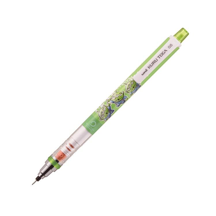 【uni】Kurutoga迪士尼自動鉛筆-大眼怪綠 (限量版)