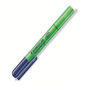 施德樓 旋轉中性果凍螢光筆-綠