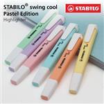 【STABILO】swing cool馬卡龍色系螢光筆組/6色