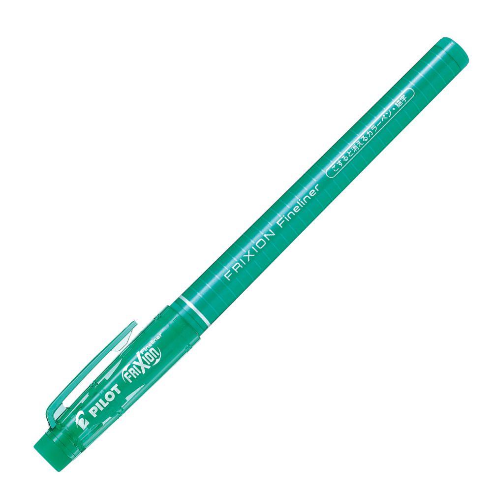 百樂魔擦極細彩色筆-綠 (日本版限量)