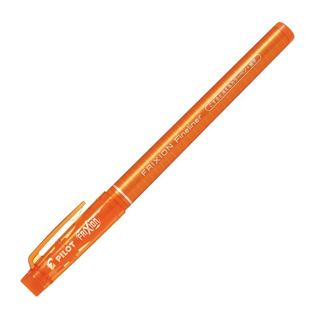 百樂魔擦極細彩色筆-橘 (日本版限量)