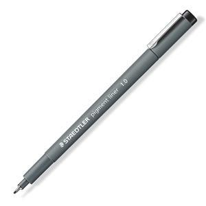 施德樓 寬筆幅耐水代針1.0黑