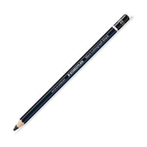 施德樓黑桿人像素描專用鉛筆4B