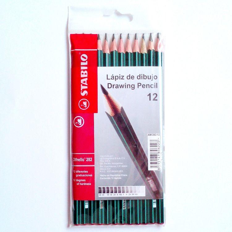 【STABILO】德國天鵝牌Othello製圖鉛筆組/12入