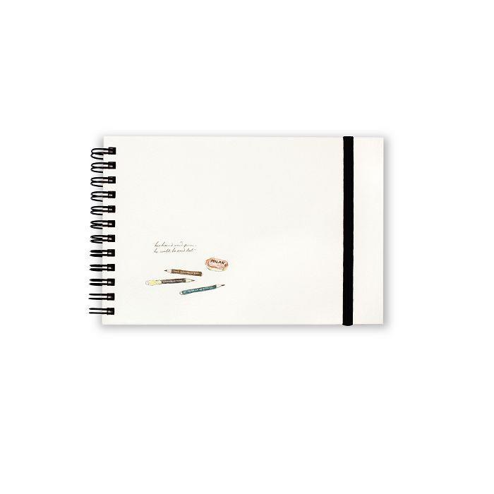 【柏格文具】ZAKKA 50K精裝繪圖本-鉛筆