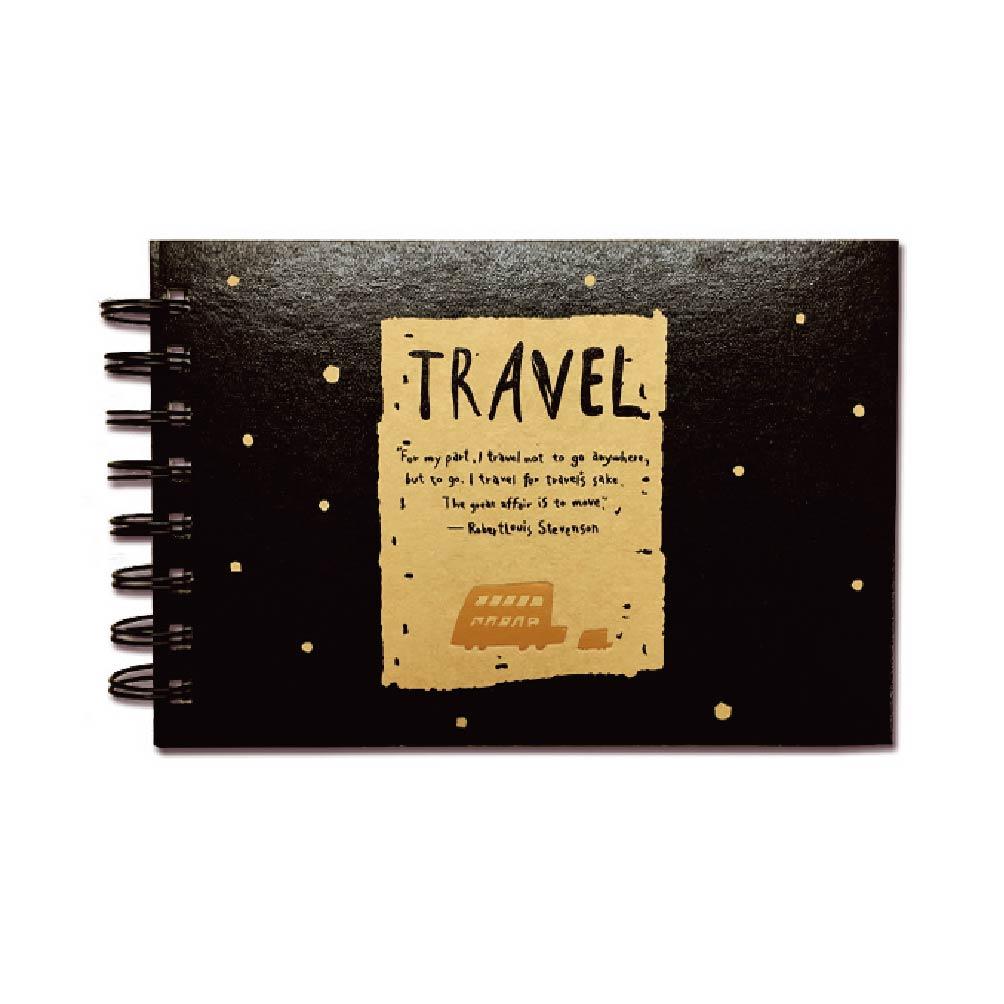 旅行時光-32K素描手札本-TRAVEL