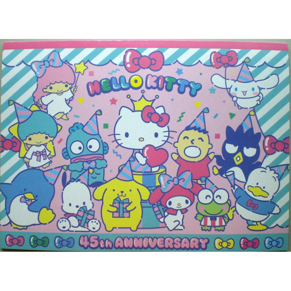Hello Kitty_畫圖本(家族)