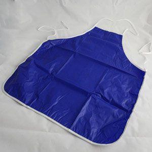 兒童防水圍裙-深藍