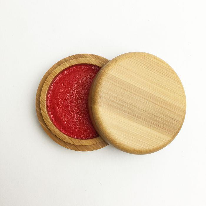 中華筆莊 竹盒印泥