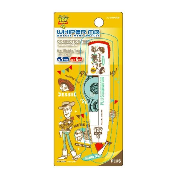 PLUS玩具總動員MR修正帶5mm-胡迪 (限量版)