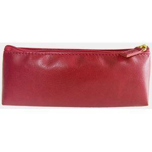 【Conifer綠的事務】《Cuir》大筆袋 。紅