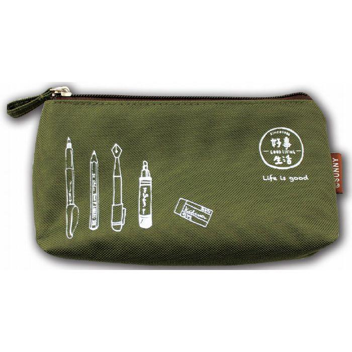 【三瑩】好事生活手機筆袋(綠)