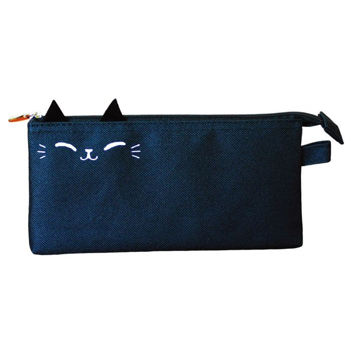 【九達】O-Cat貓耳三明治筆袋(黑)