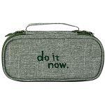 【珠友】雙層上翻筆袋 do it now-E綠
