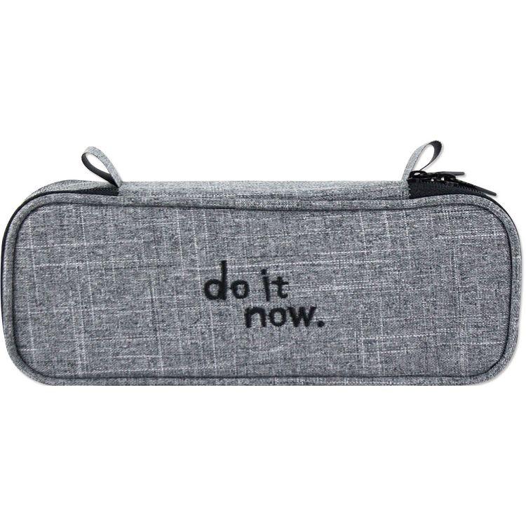 【珠友】單層上翻筆袋 do it now-A黑