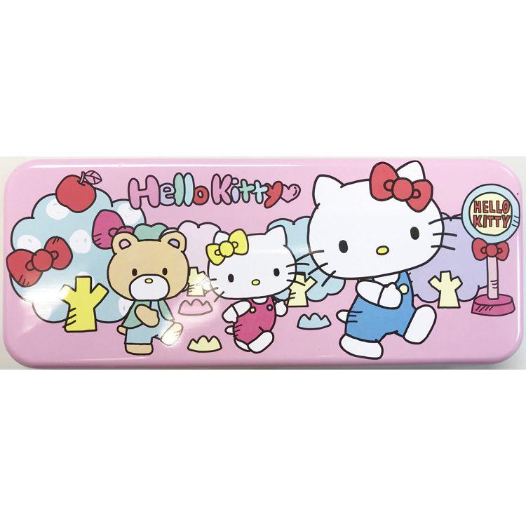 HELLO KITTY世界_ 寬雙層筆盒