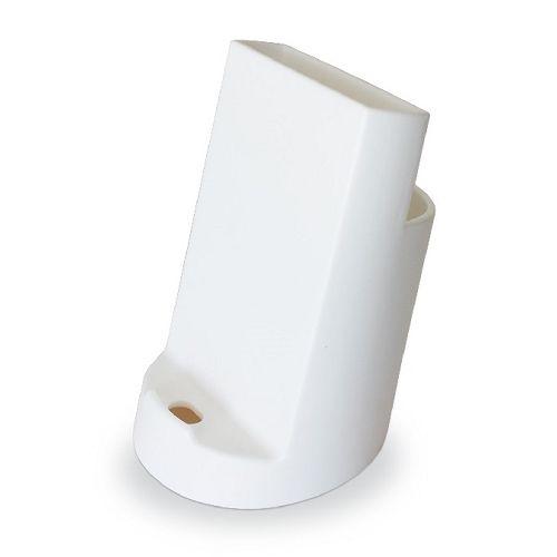 【三瑩】2合1手機座筆筒-白