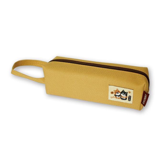 【三瑩】柴之助方筆袋-黃