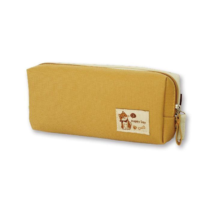 【三瑩】柴之助DABO大筆袋-黃