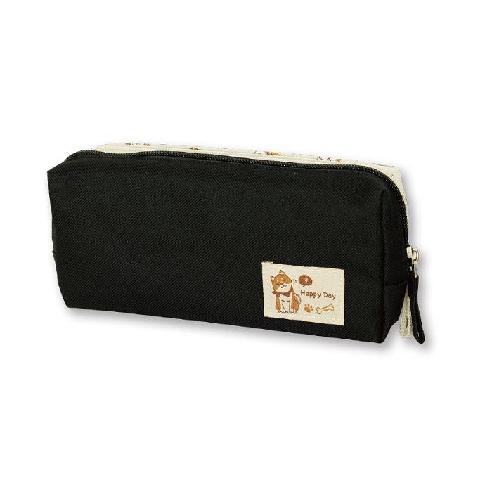 【三瑩】柴之助DABO大筆袋-黑