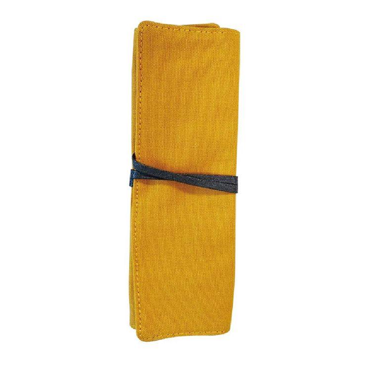 簡單生活-多功能捲袋-鵝黃