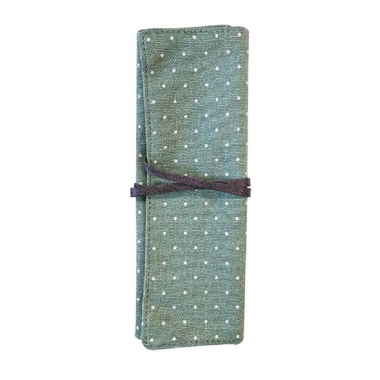 簡單生活-多功能捲袋-點點竹綠