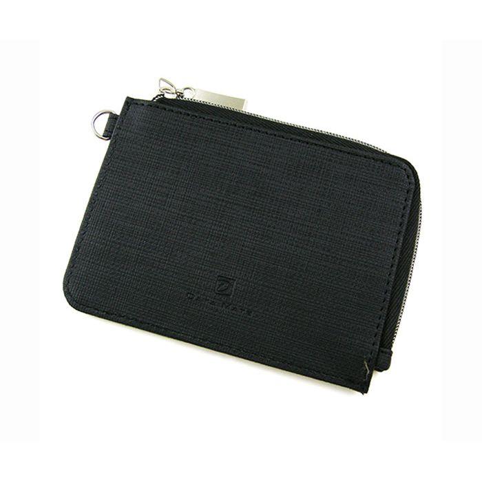 【DATA MATE】輕巧悠活系列票卡零錢包-黑DM-251