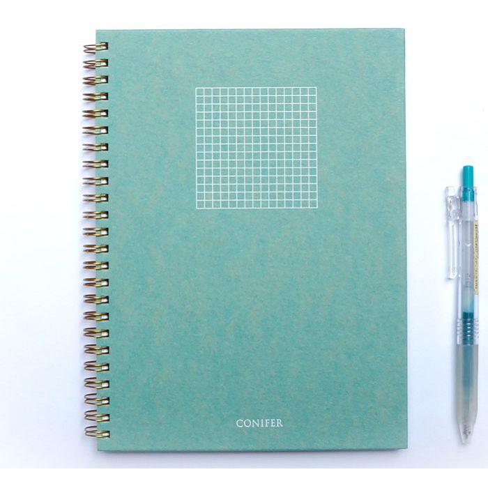 【Conifer綠的事務】25K 禪Zen 線圈方格筆記 - ?礬