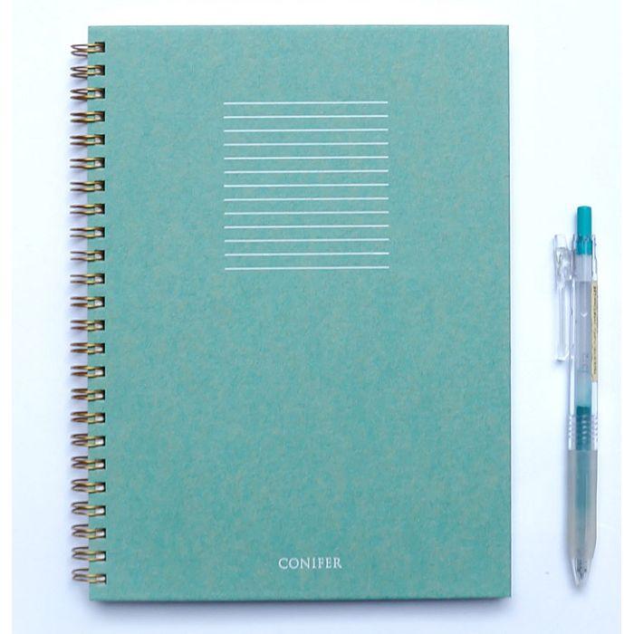 【Conifer綠的事務】32K 禪Zen 線圈橫線筆記 - ?礬