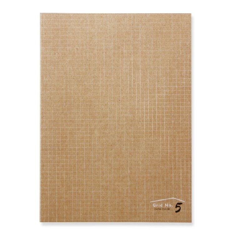 【三瑩】手作之16K NO.5方格定頁筆記