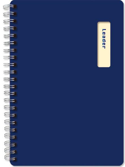 【珠友】B6/32K雙圈筆記(橫線)/70張-D藍