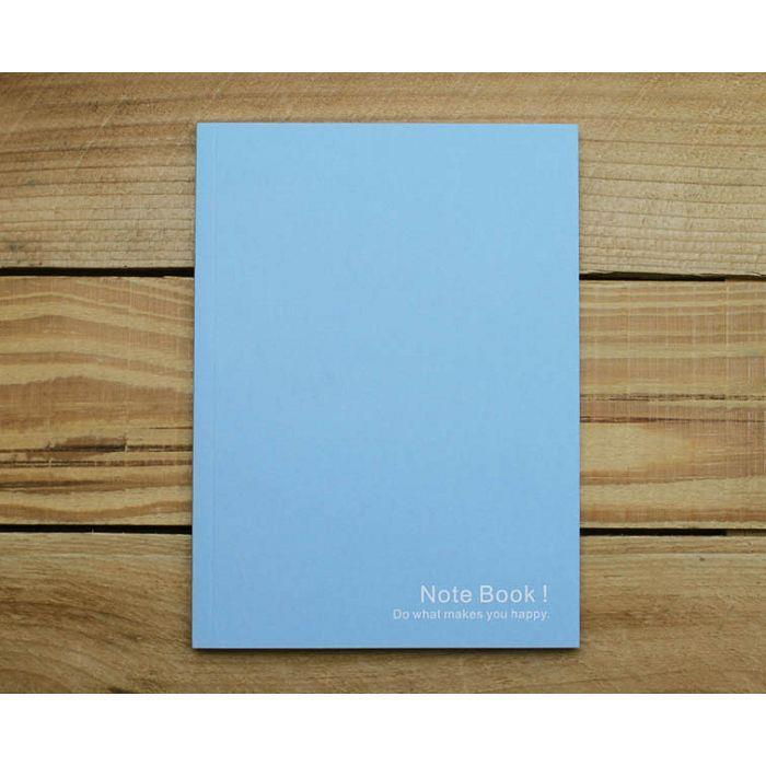 素色32K加厚筆記(藍色)