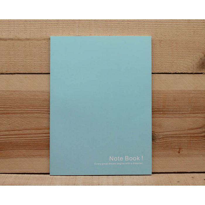 素色25K筆記本(灰藍)