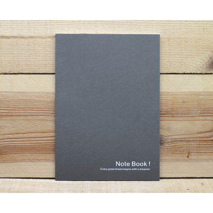 素色25K筆記本(深黑)
