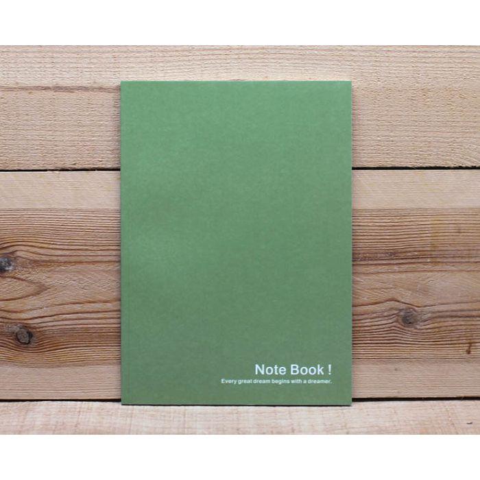 素色25K筆記本(暗綠)