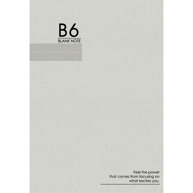 32K空白加厚筆記-灰字