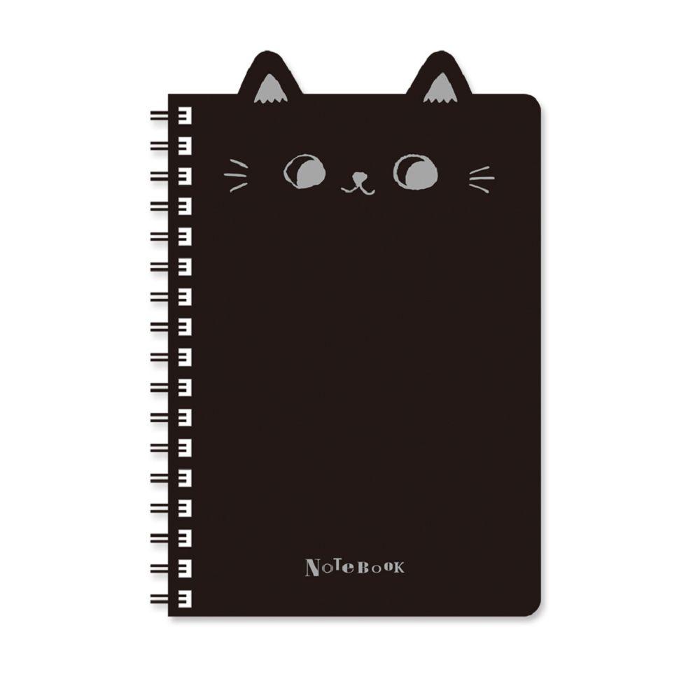 O-cat 50K貓耳PP線圈本-黑