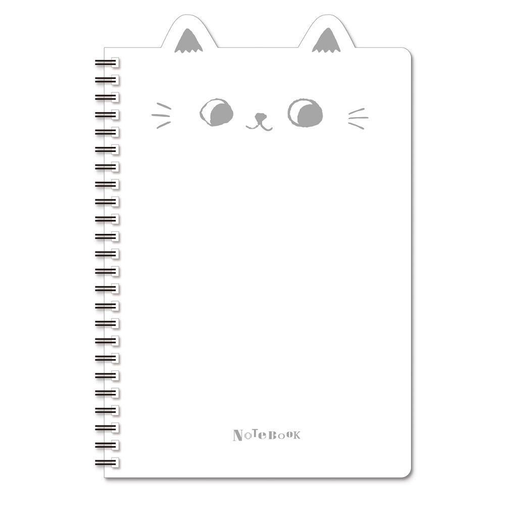 O-cat 25K貓耳PP線圈本-白