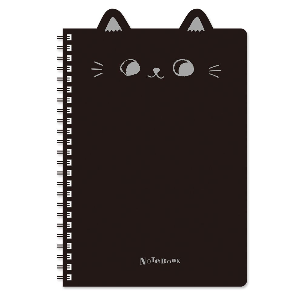 O-cat 25K貓耳PP線圈本-黑