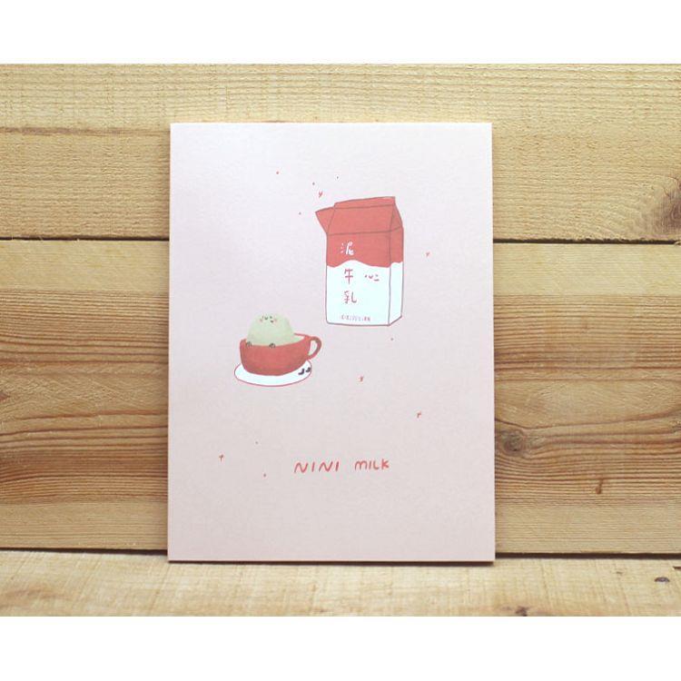 鈴薯泥25K加厚筆記(牛乳)