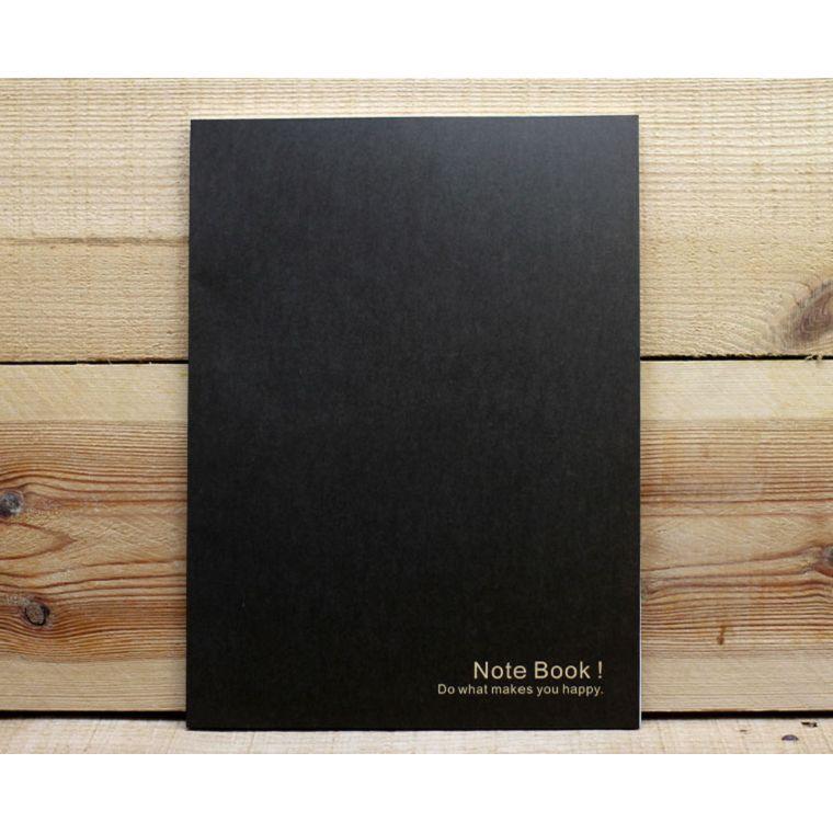 牛皮紙加厚16K筆記(黑色)