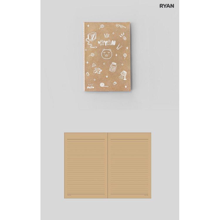 [kakao]牛皮紙筆記本-RYAN
