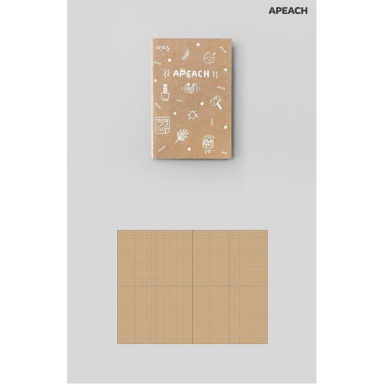 [kakao]牛皮紙筆記本-APEACH