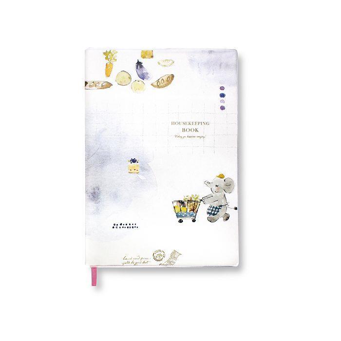 【柏格文具】ZAKKA 25K家計簿-小象