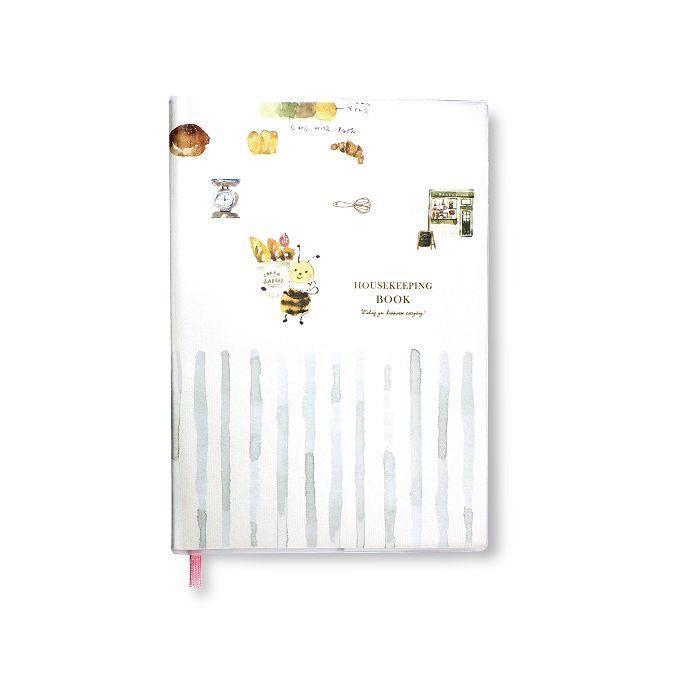 【柏格文具】ZAKKA 25K家計簿-蜜蜂