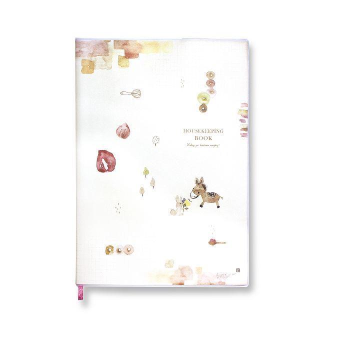 【柏格文具】ZAKKA 16K家計簿-驢子