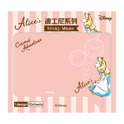 迪士尼大對話框便利貼-愛麗絲