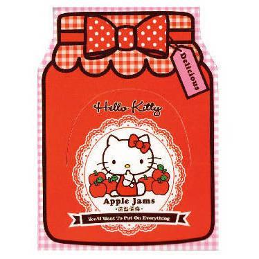 Hello Kitty果醬系列便條SR-ME156-Kitty紅