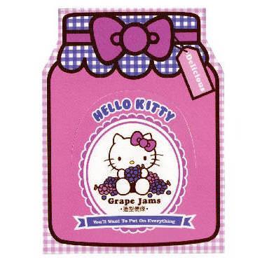 Hello Kitty果醬系列便條SR-ME157-Kitty紫