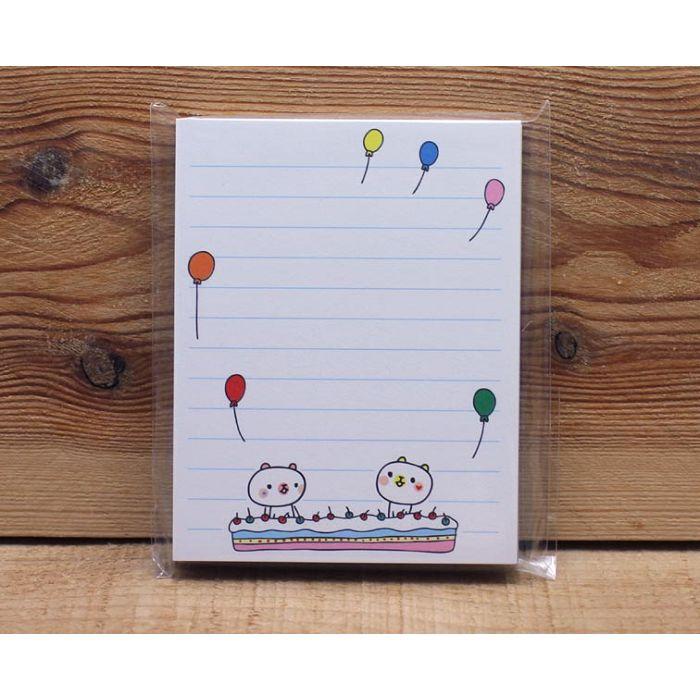 8x10便條紙(白熊氣球)